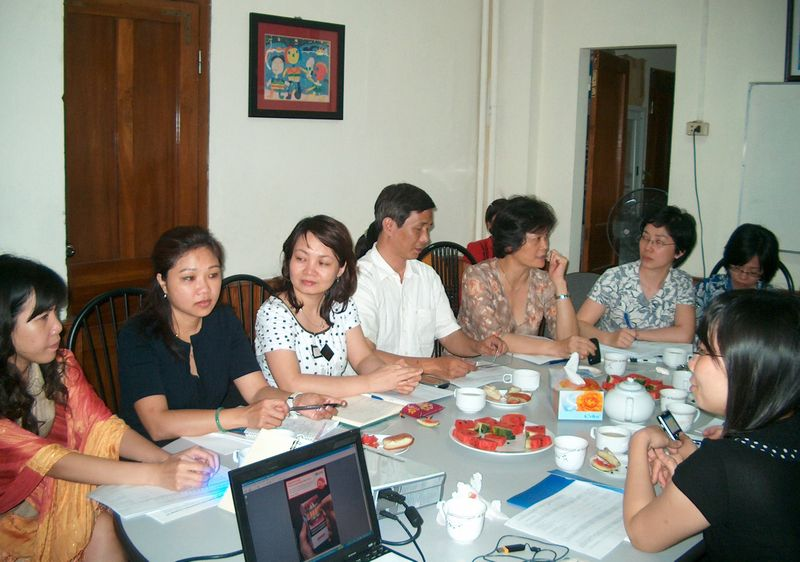 Vietnam tobacco control meeting