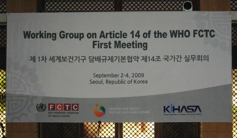FCTC Article 14 Korea picture
