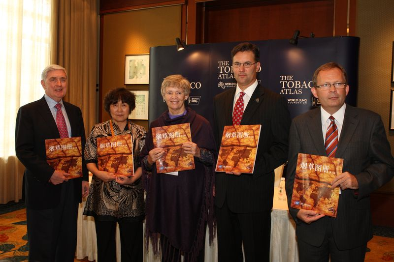 Tobacco Atlas Chinese launch speakers