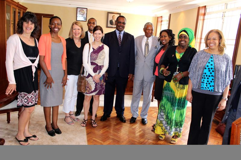 Governor of Nairobi visit