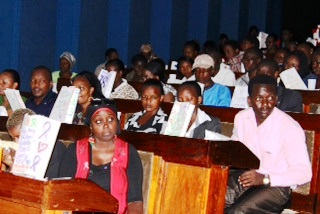 Kenya Relay For Life training Luminaria Ceremony